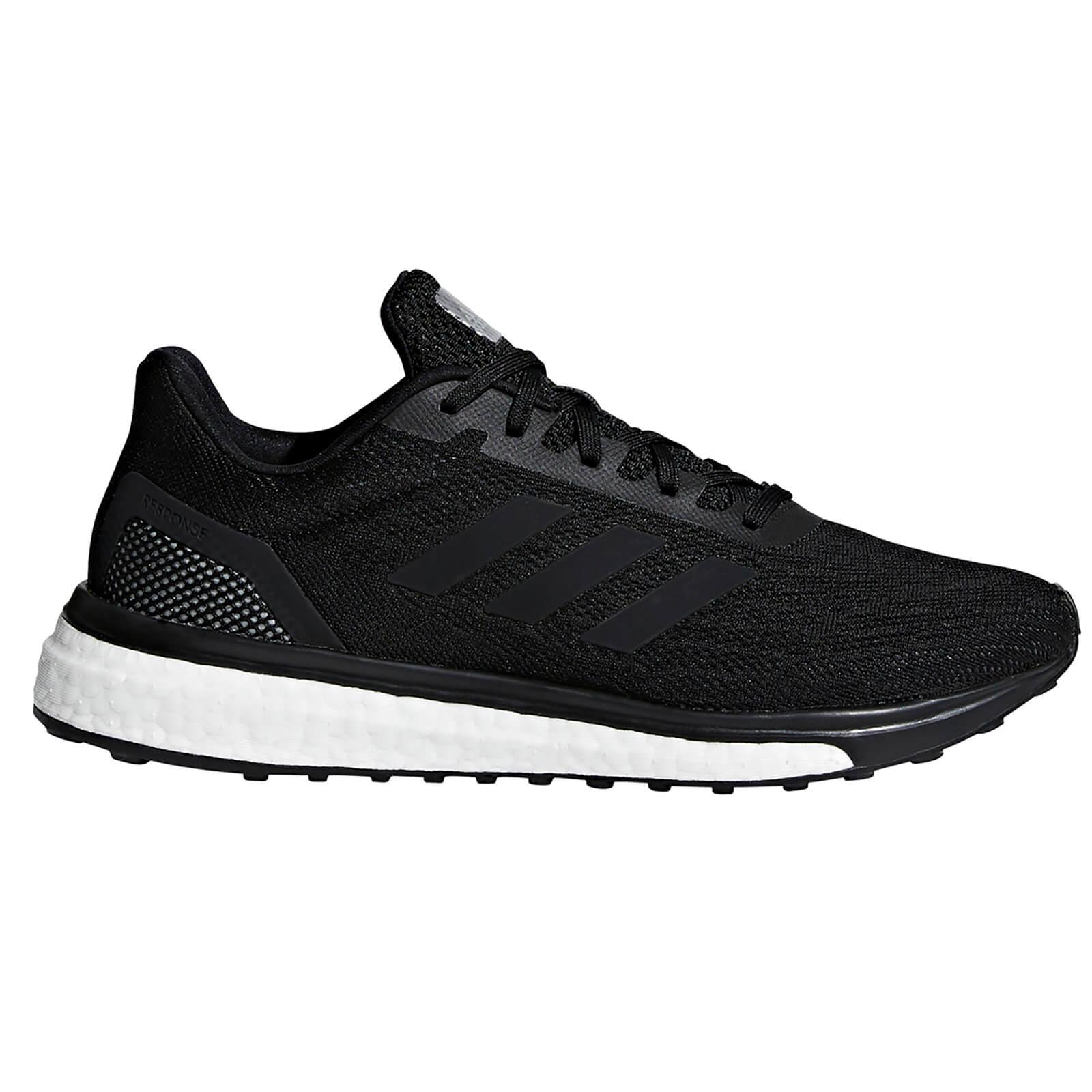 adidas Women's Response Running Shoes - White/Black - US 6.5/UK 5 - White/Black