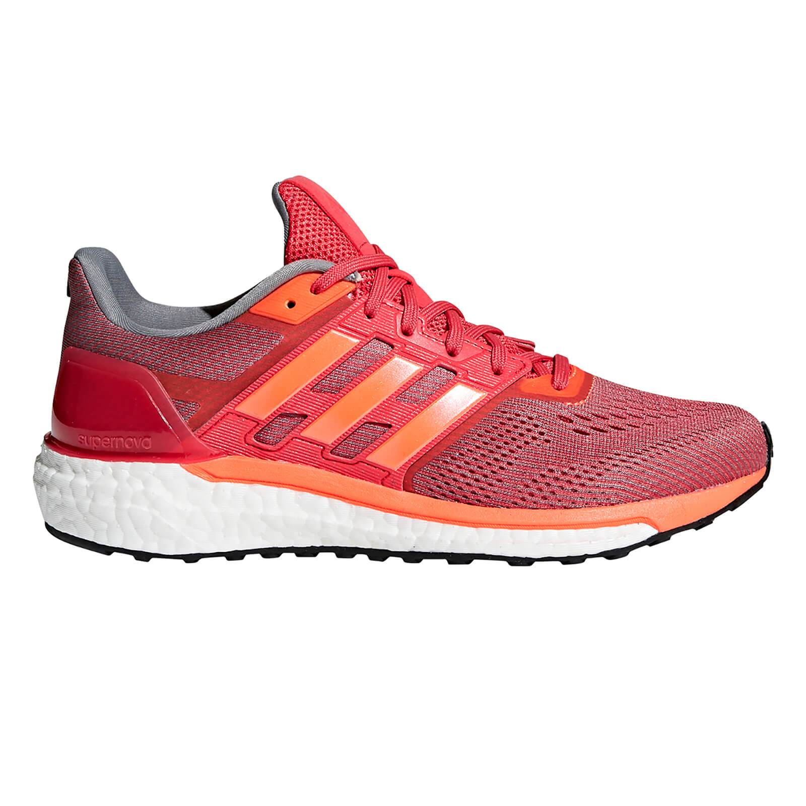 adidas Women's Supernova Running Shoes - Orange/Red - US 5.5/UK 4 - Orange/Red