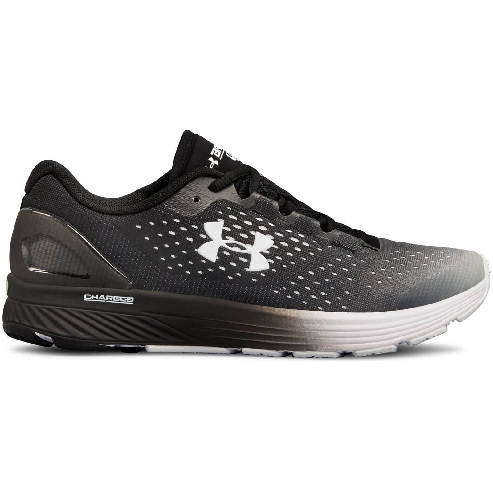 Under Armour Women's Charged Bandit 4 Running Shoes - Black/White - US 7.5/UK 5 - Black/White