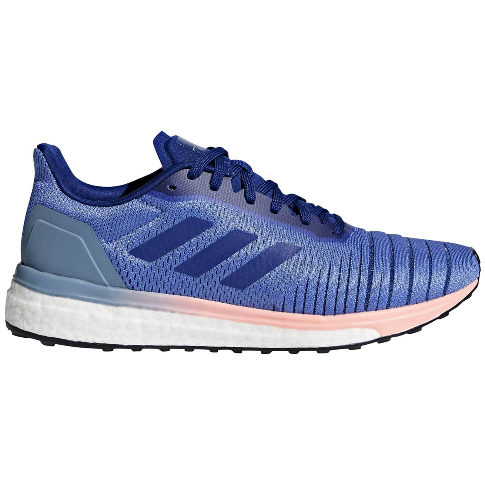 adidas Women's Solar Drive Running Shoes - Lilac/Ink - US 7/UK 5.5 - Purple/Blue