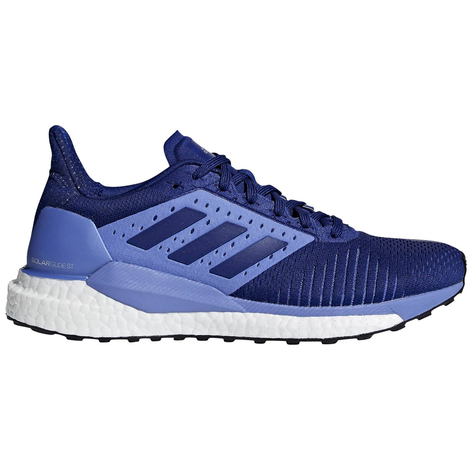 adidas Women's Solar Glide ST Running Shoes - Mystery Ink - US 6/UK 4.5 - Blue