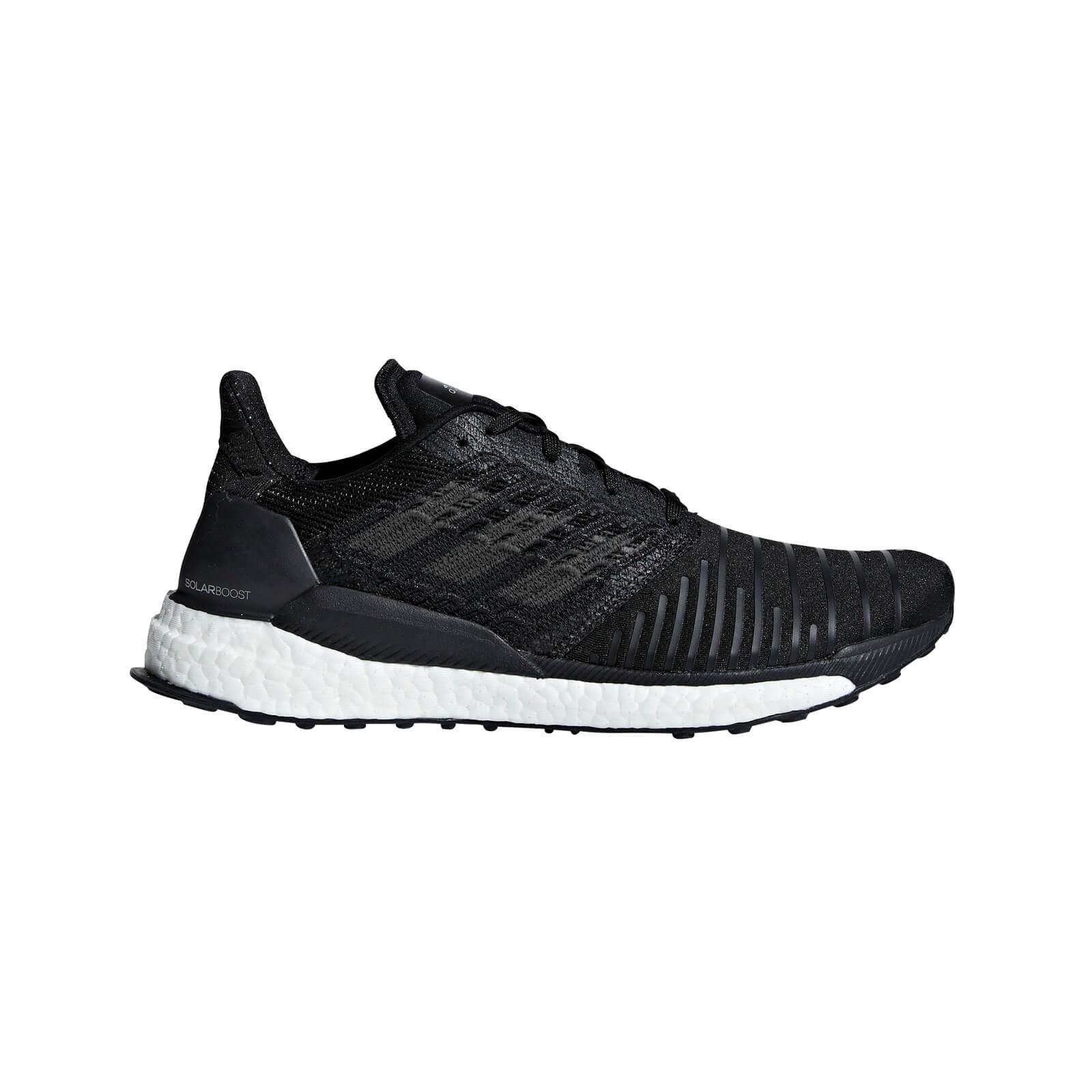 adidas Men's Solar Boost Running Shoes - Black - US 10.5/UK 10 - Black