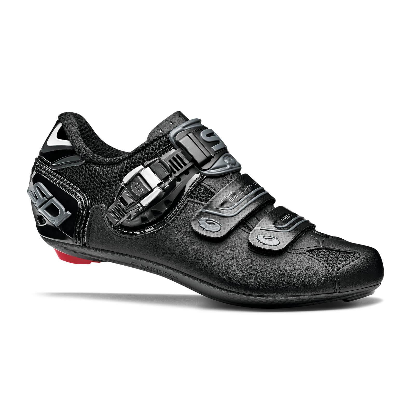 Sidi Women's Genius 7 Road Shoes - Shadow Black - EU 43 - Shadow Black