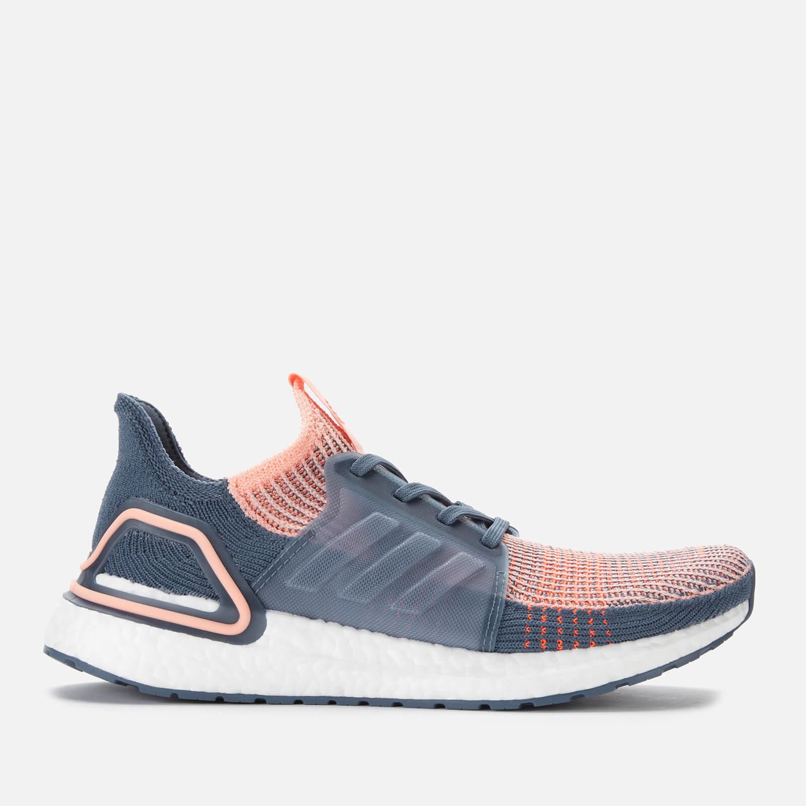 adidas Women's Ultraboost 19 Trainers - Pink/Blue - UK 4 - Multi