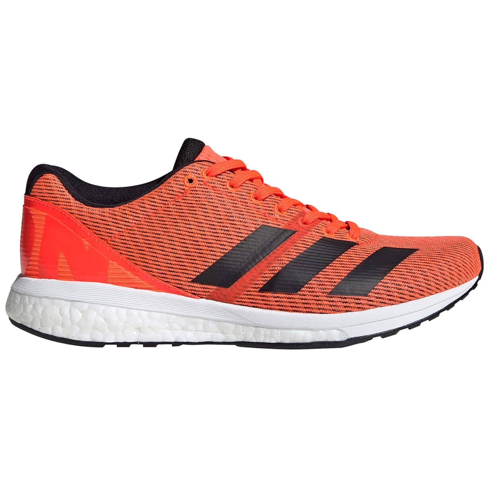 adidas Women's Adizero Boston 8 Running Shoes - Red - UK 5.5