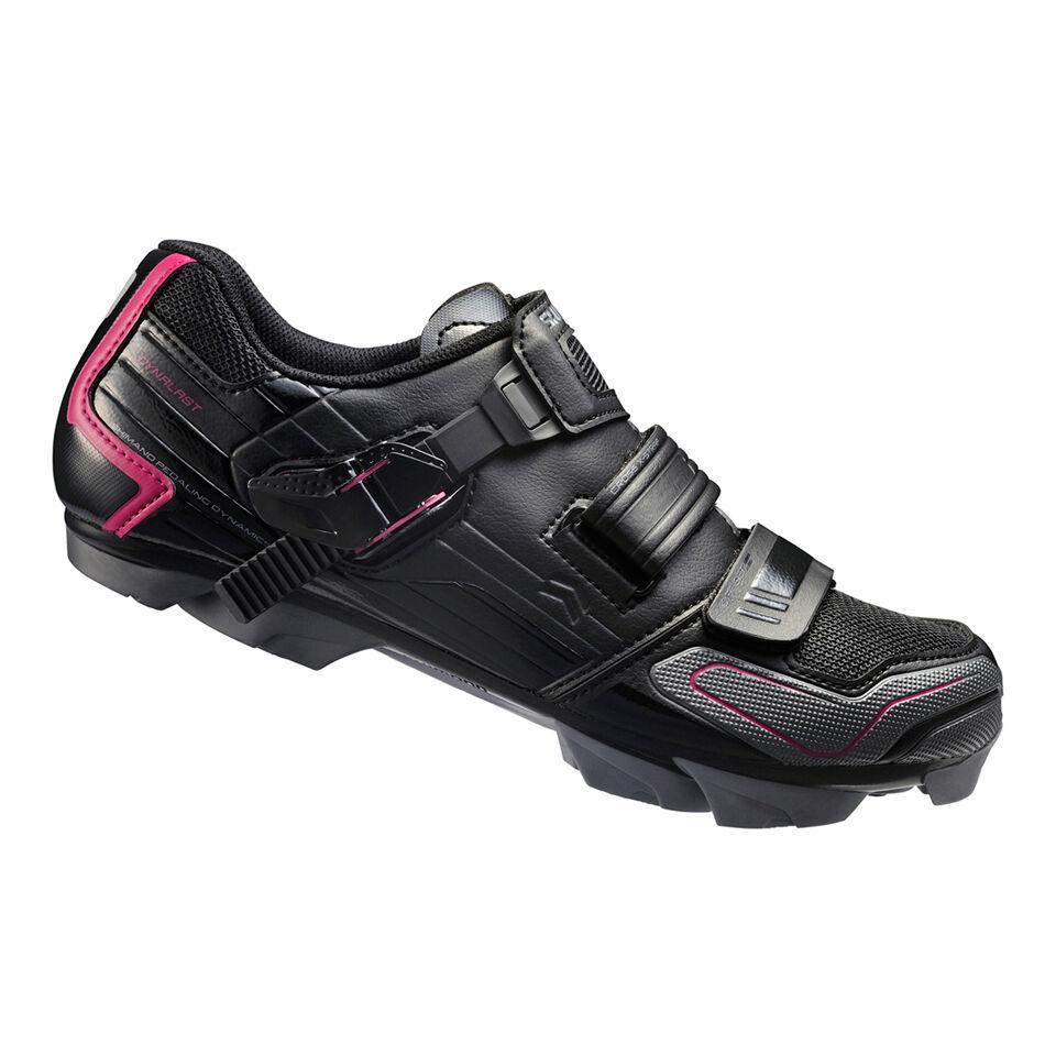 Shimano WM83 SPD Women's Cycling Shoes - Black - EUR 38 - Black