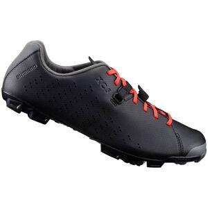 Shimano XC5 MTB Shoes - Grey/Orange - EU 44 - Black