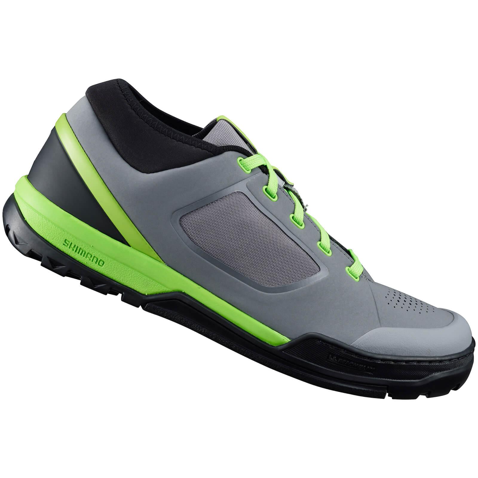 Shimano GR7 MTB Shoes - for Flat Pedals - Blue - EU 44 - Grey/Green