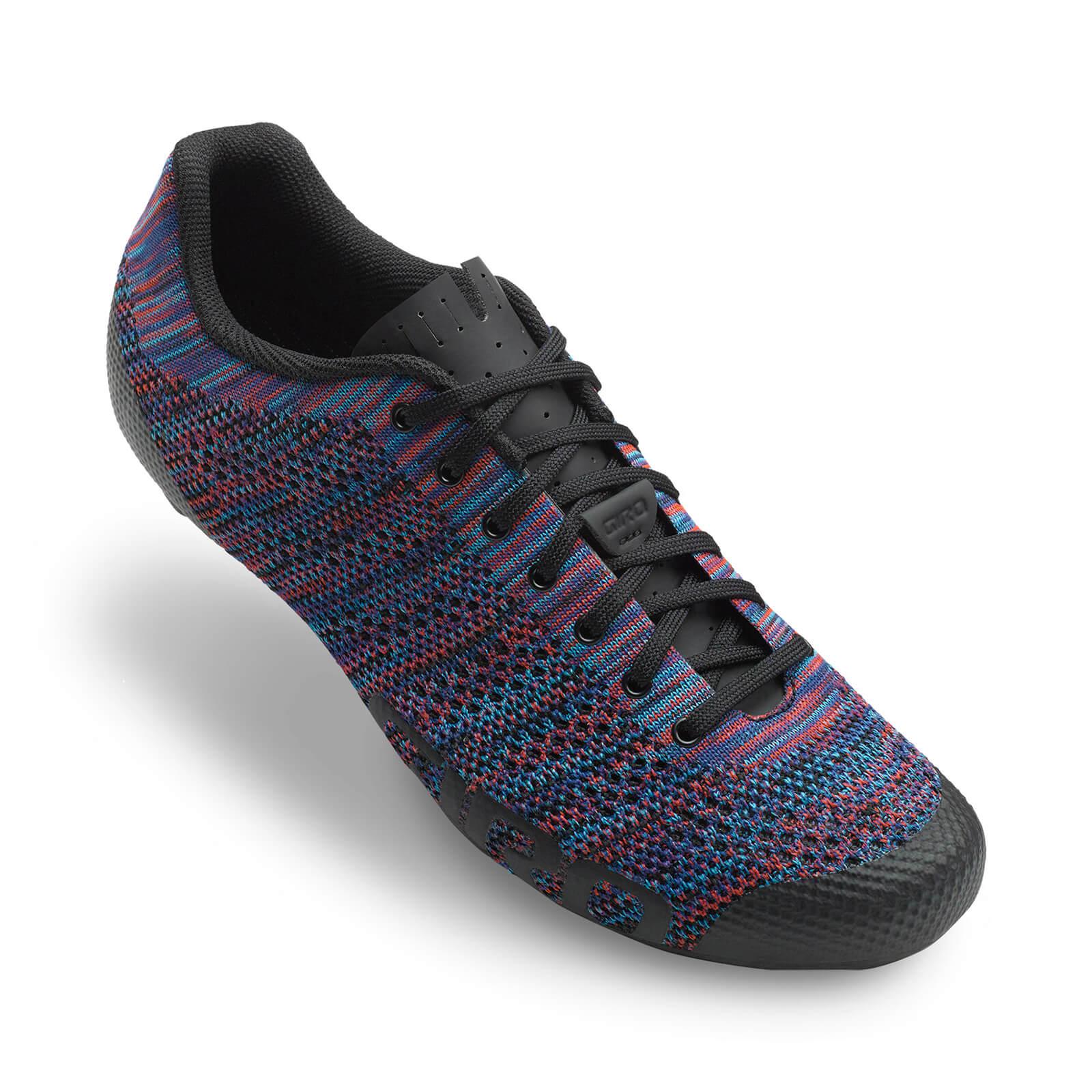 Giro Empire E70 Knit Road Cycling Shoes - Multicolour Heather - EU 48/UK 12.5 - Multi