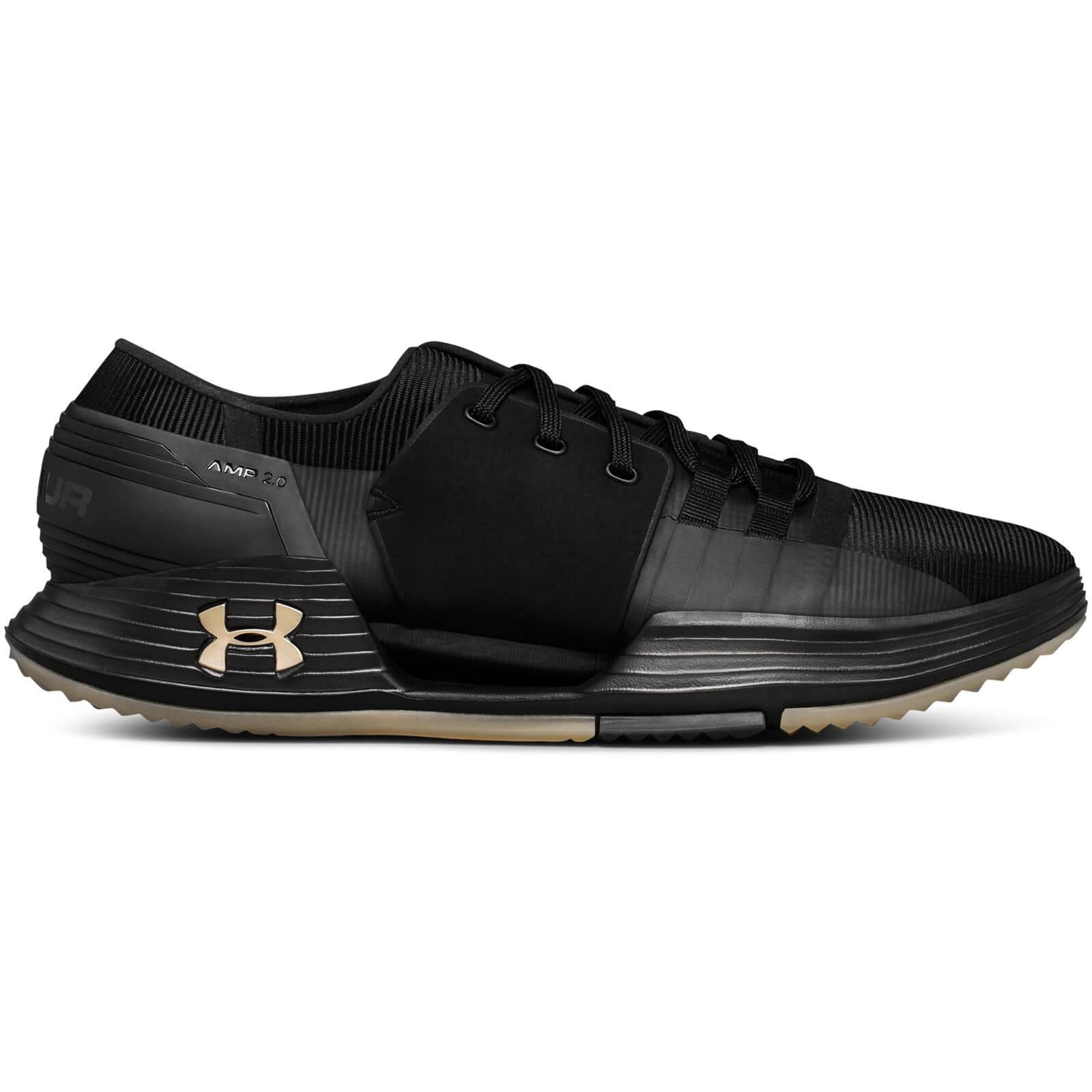 Under Armour Men's Speedform AMP 2.0 Training Shoes - Black/Yellow - US 11/UK 10 - Black/Yellow