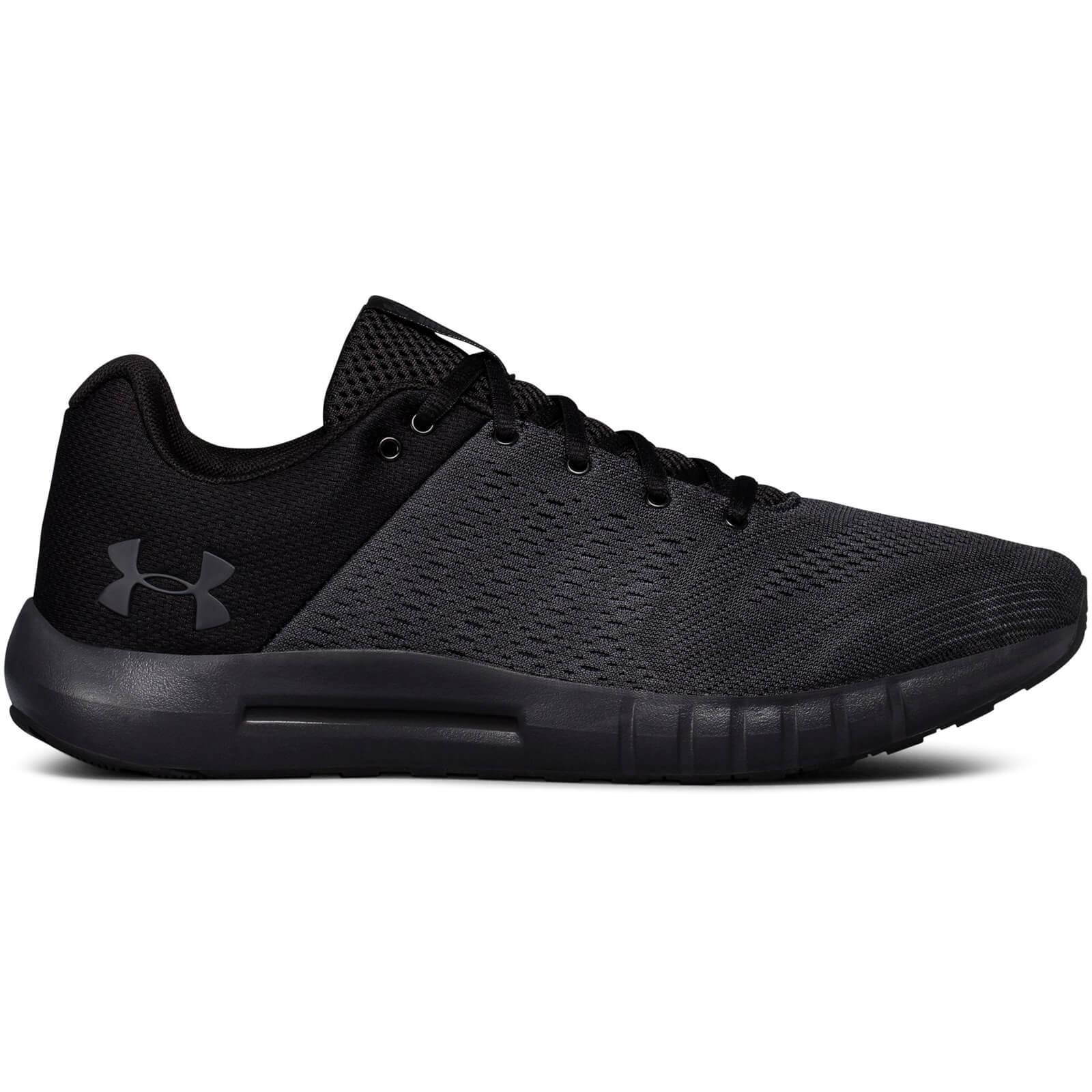Under Armour Men's Micro G Pursuit Running Shoes - Grey/White - US 11.5/UK 10.5 - Grey