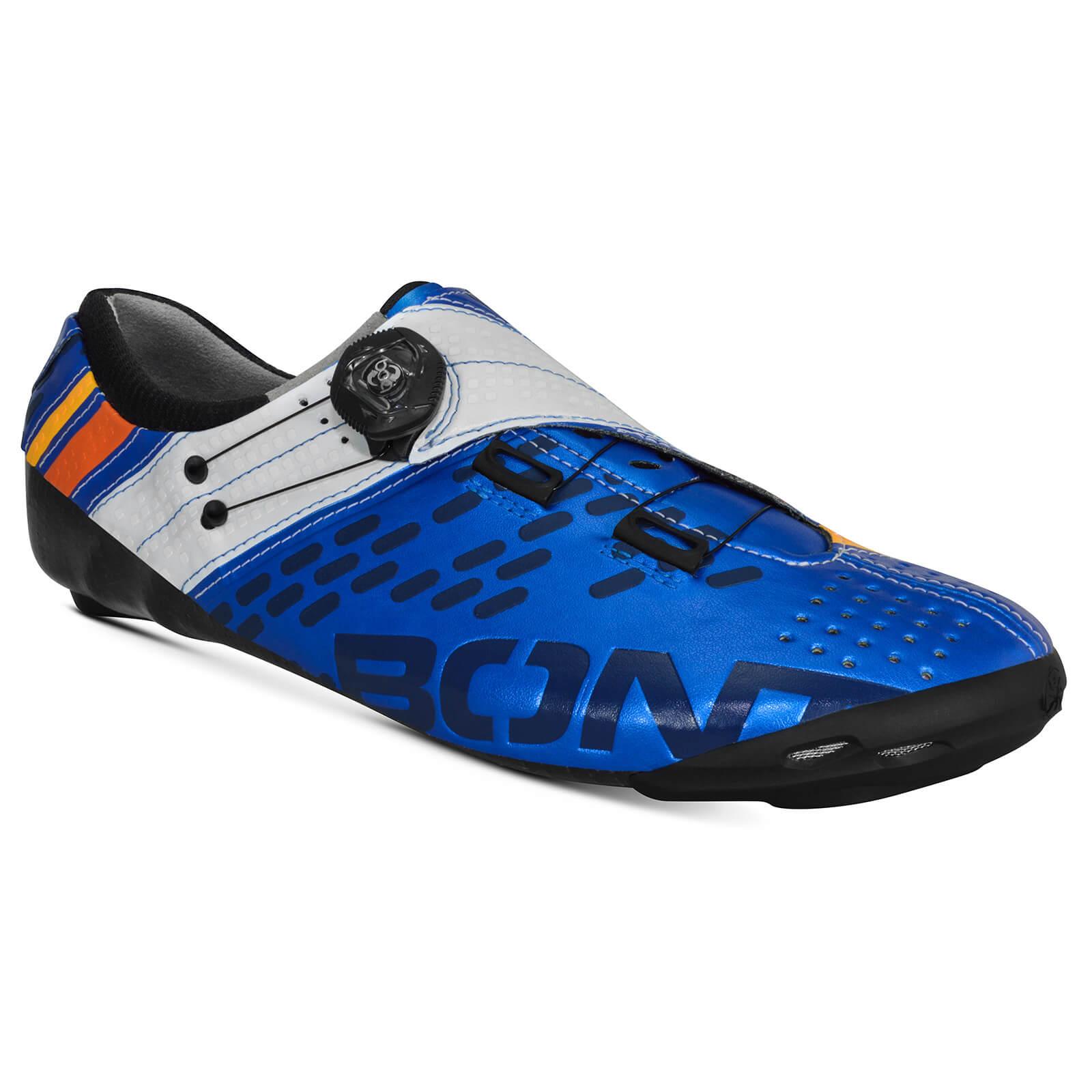 Bont Helix Road Shoes - EU 45 - Blue/White
