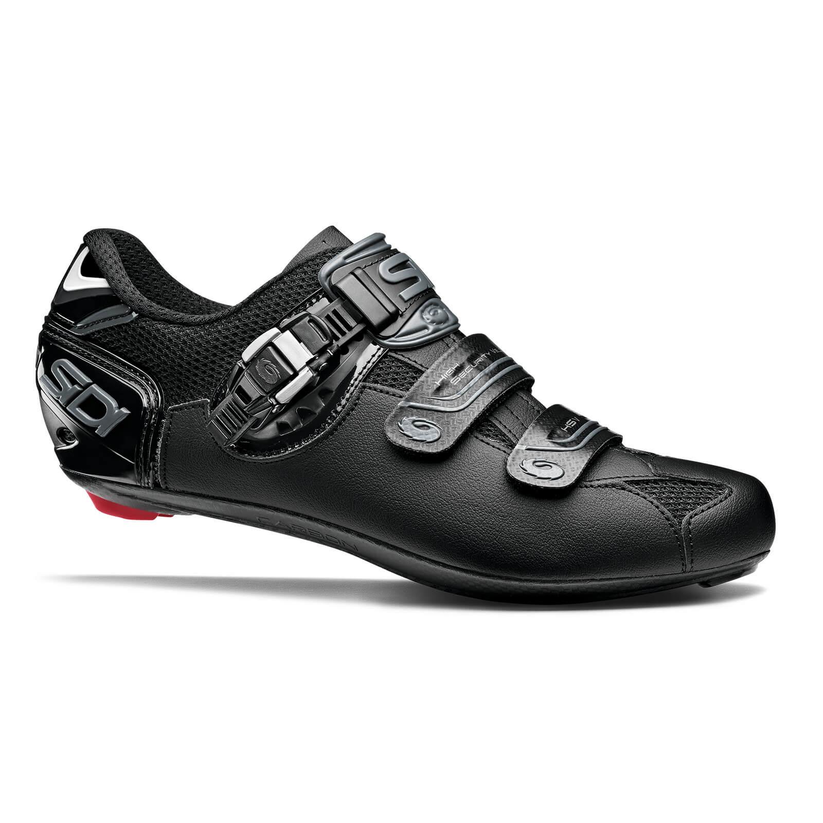 Sidi Genius 7 Road Shoes - Shadow Black - EU 44.5 - Shadow Black