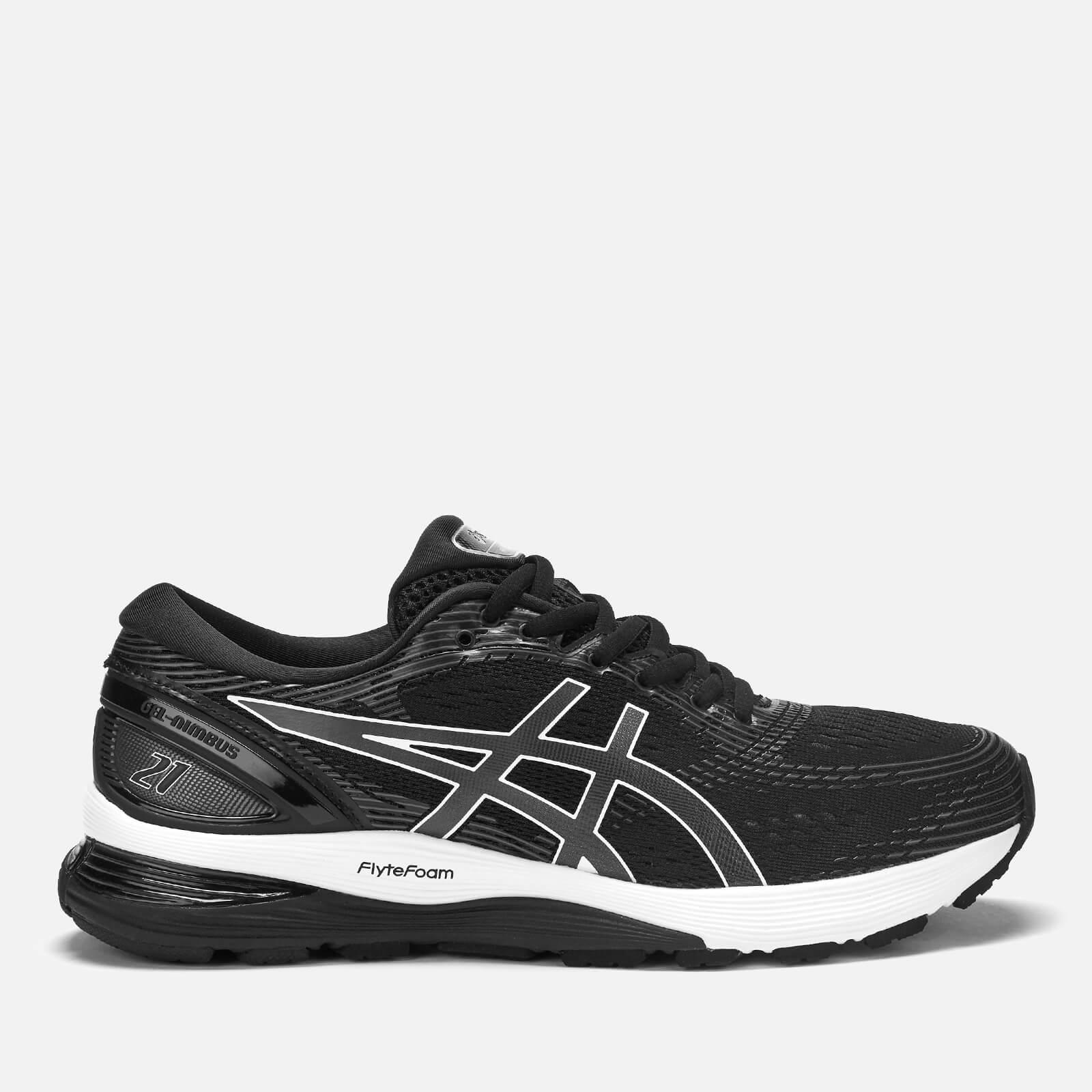 Asics Men's Running Gel-Nimbus 21 Trainers - Black/Dark Grey - UK 11 - Black