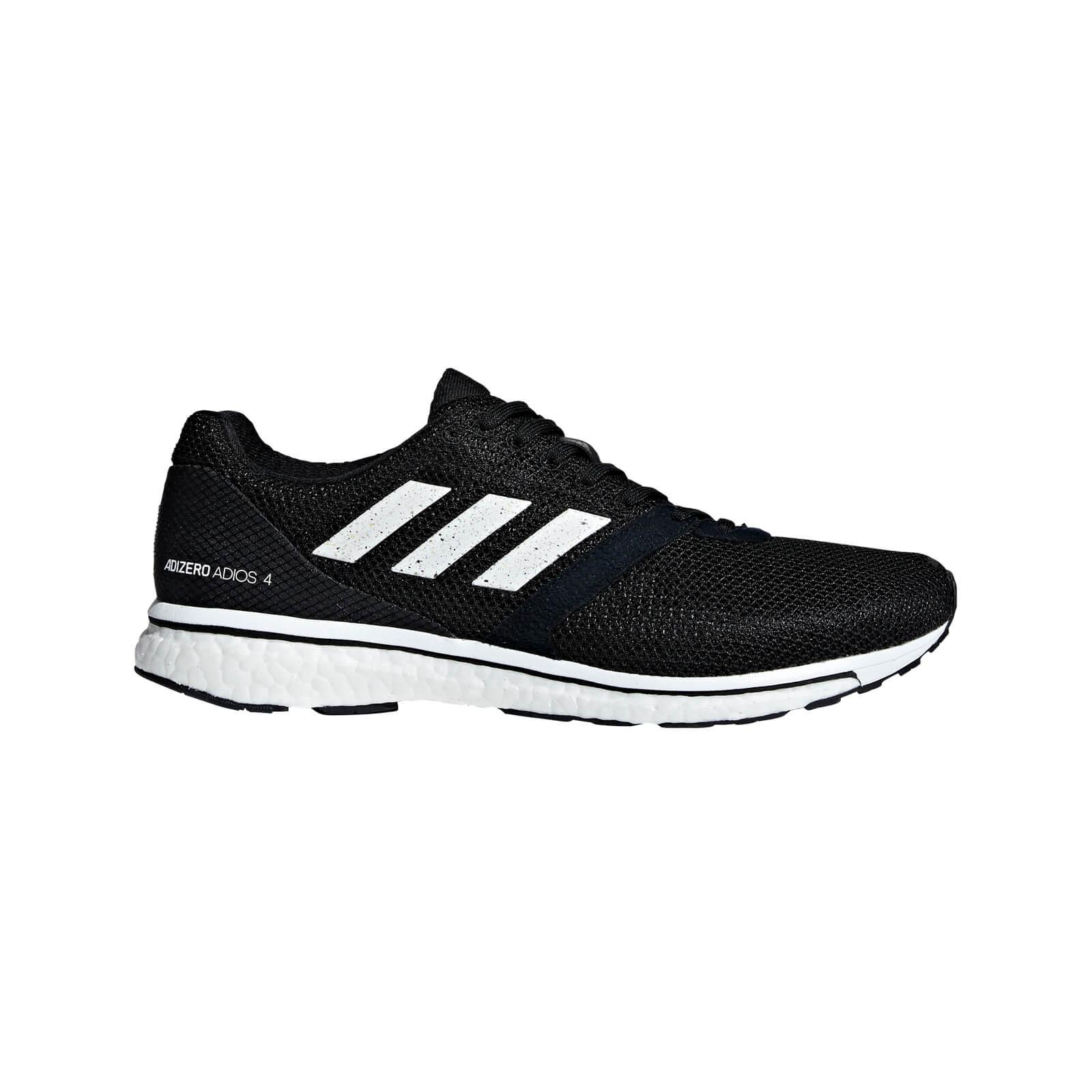adidas Adizero Adios 4 Running Shoes - Black - US 12/UK 11.5