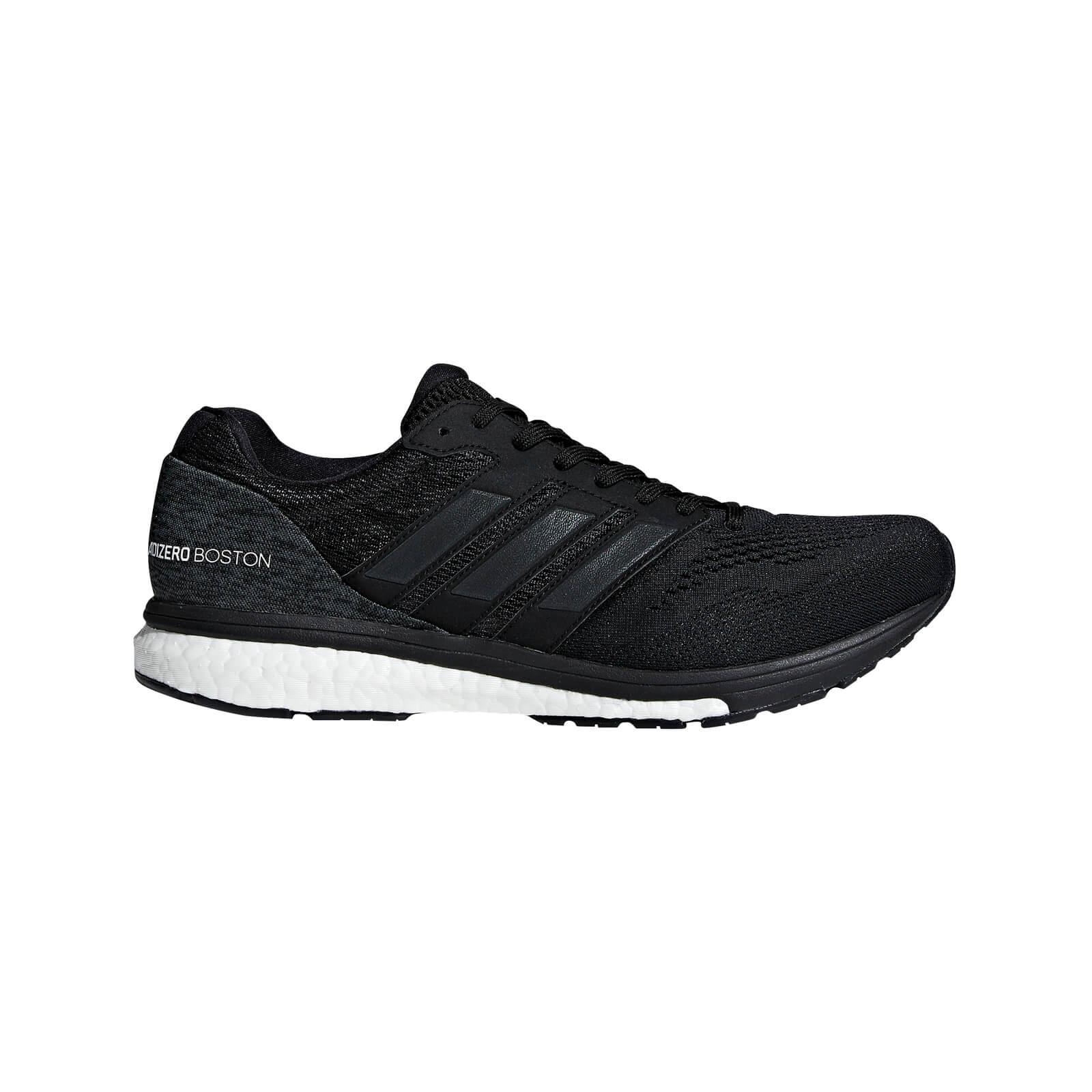 adidas Men's Adizero Boston 7 Running Shoes - Black - US 11.5/UK 11 - Black