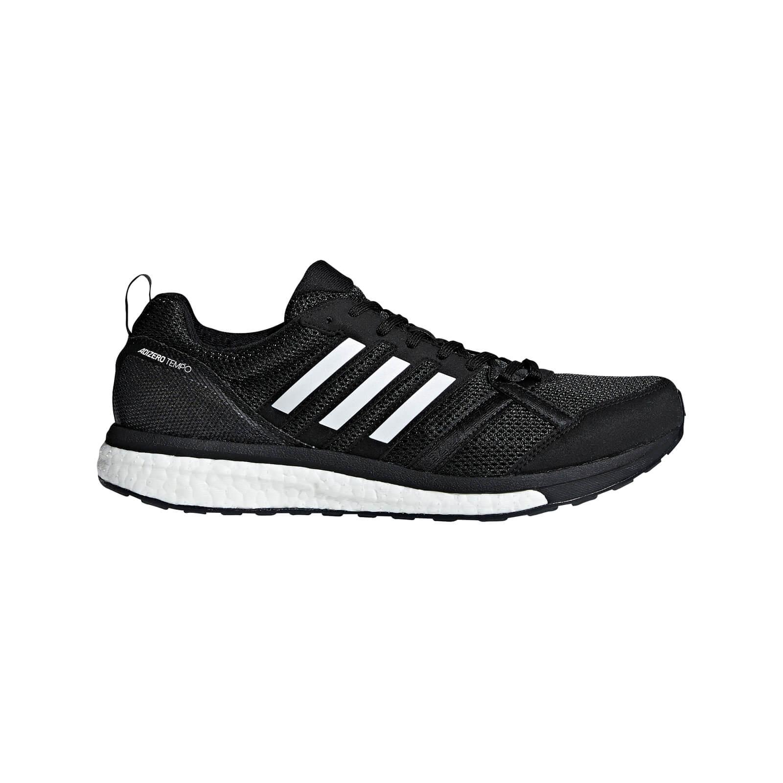 adidas Men's Adizero Tempo 9 Running Shoes - Black - US 8.5/UK 8 - Black