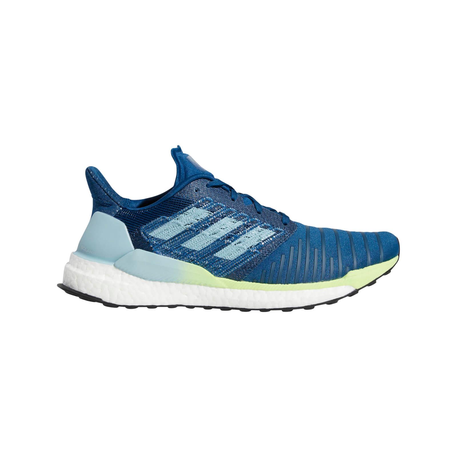 adidas Men's Solar Boost Running Shoes - Blue - US 8/UK 7.5 - Blue