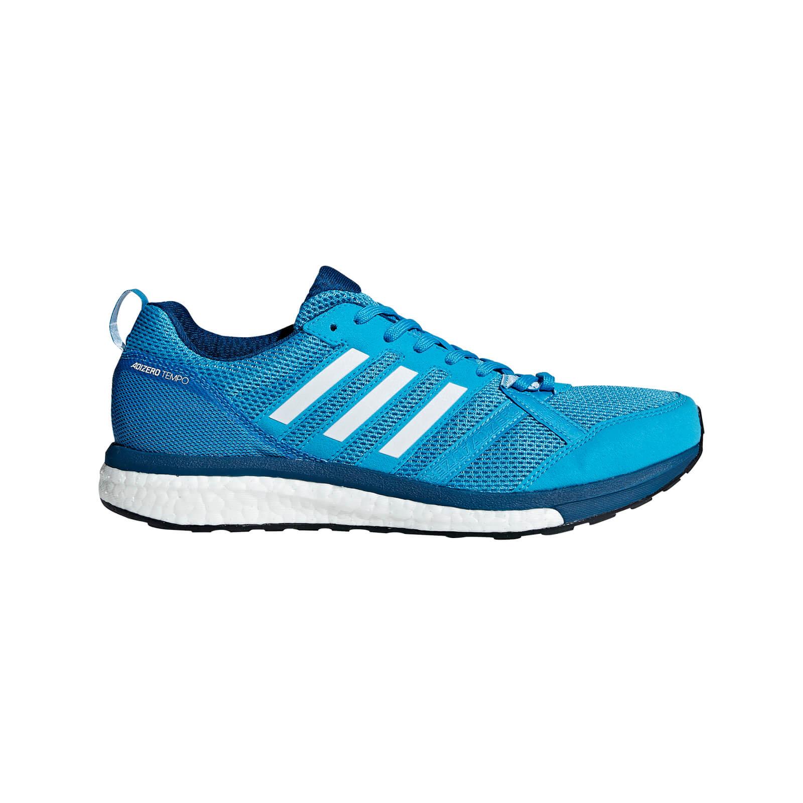 adidas Men's Adizero Tempo 9 Running Shoes - Blue - US 10.5/UK 10 - Blue
