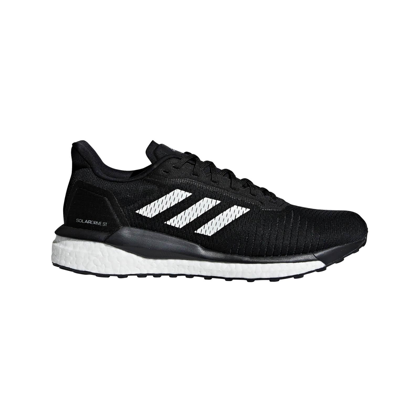 adidas Men's Solar Drive ST Running Shoes - Black - US 8/UK 7.5 - Black