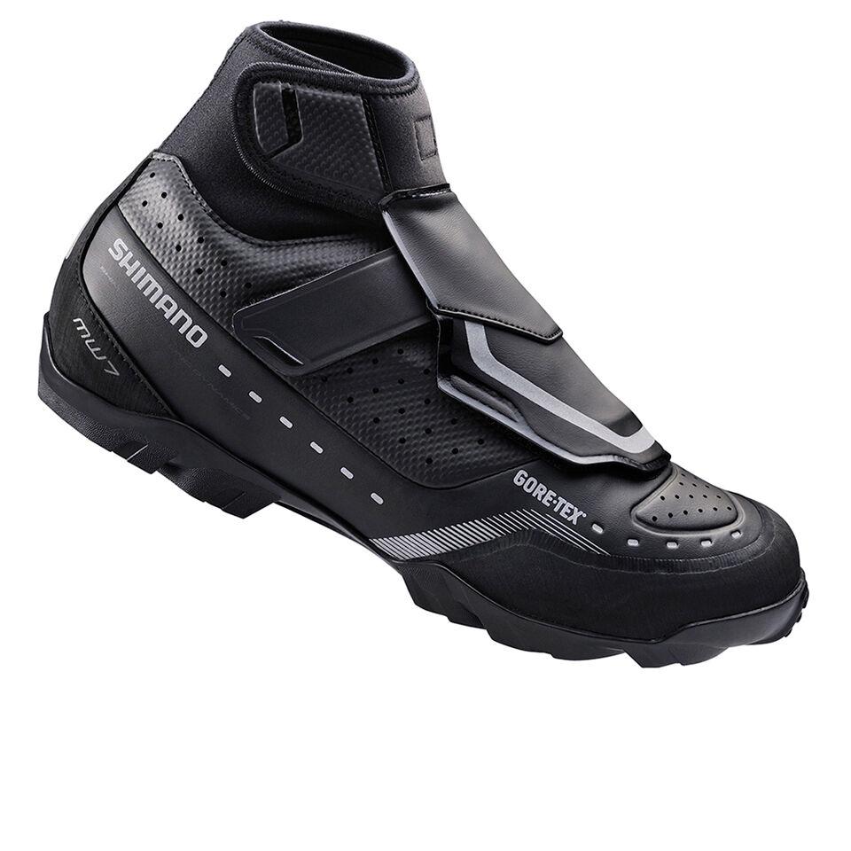 Shimano MW7 Gore-Tex SPD Cycling Shoes - Black - EUR 46 - Black