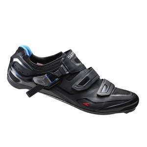 Shimano R260 Carbon Road Cycling Shoes - Black - EU 39 - Black