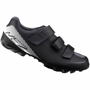 Shimano ME2 MTB Shoes - Black/White - UK 9.5/EU 45 - Black/White