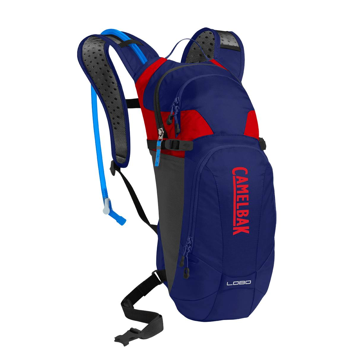 Camelbak Lobo Hydration Backpack 9 Litres - Pitch Blue/Racing Red