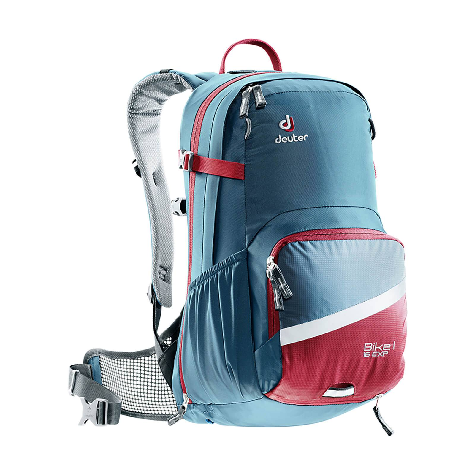 Deuter Bike 1 Air Exp 16L Backpack - Arctic/Cranberry