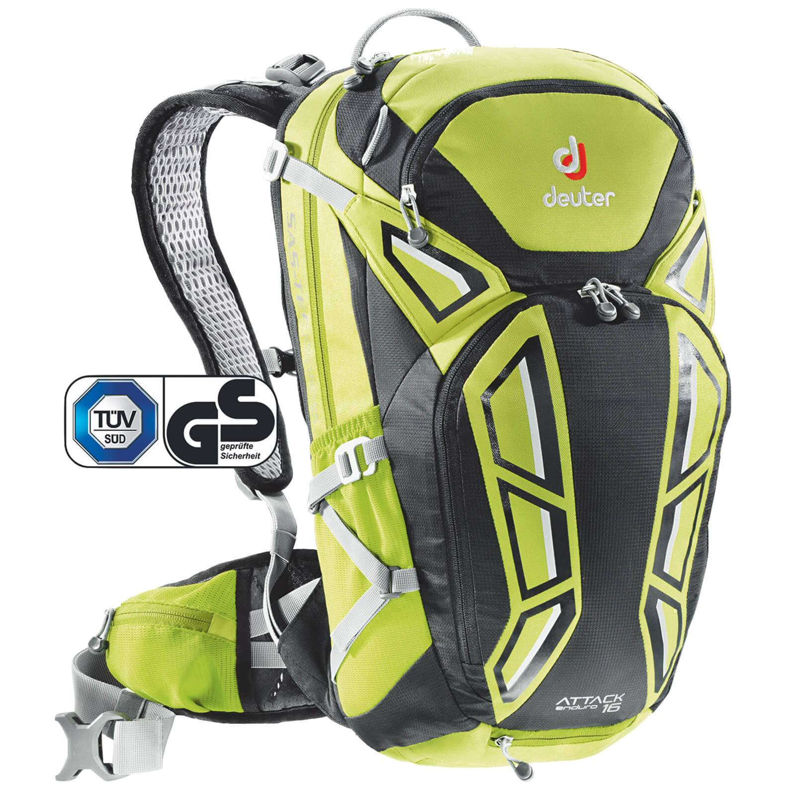 Deuter Attack Enduro 16L Backpack - Apple/Black