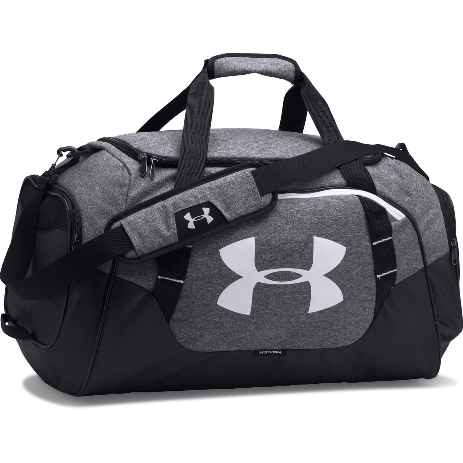 Under Armour Undeniable 3.0 Duffle Bag - Medium - Grey/White