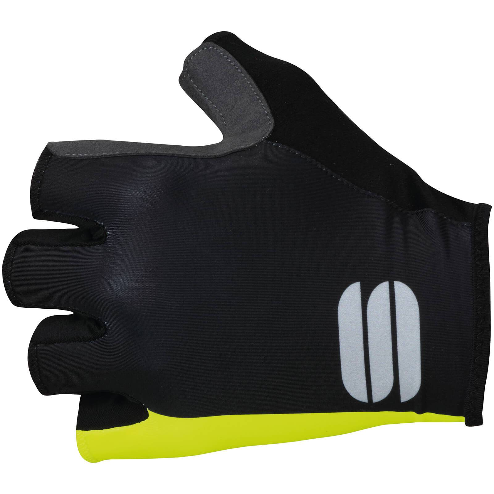 Sportful BodyFit Pro Gloves - XL - Black/Yellow Fluo