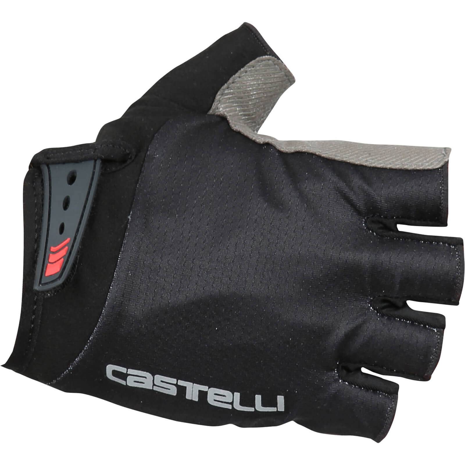 Castelli Entrata Gloves - Black - M - Black