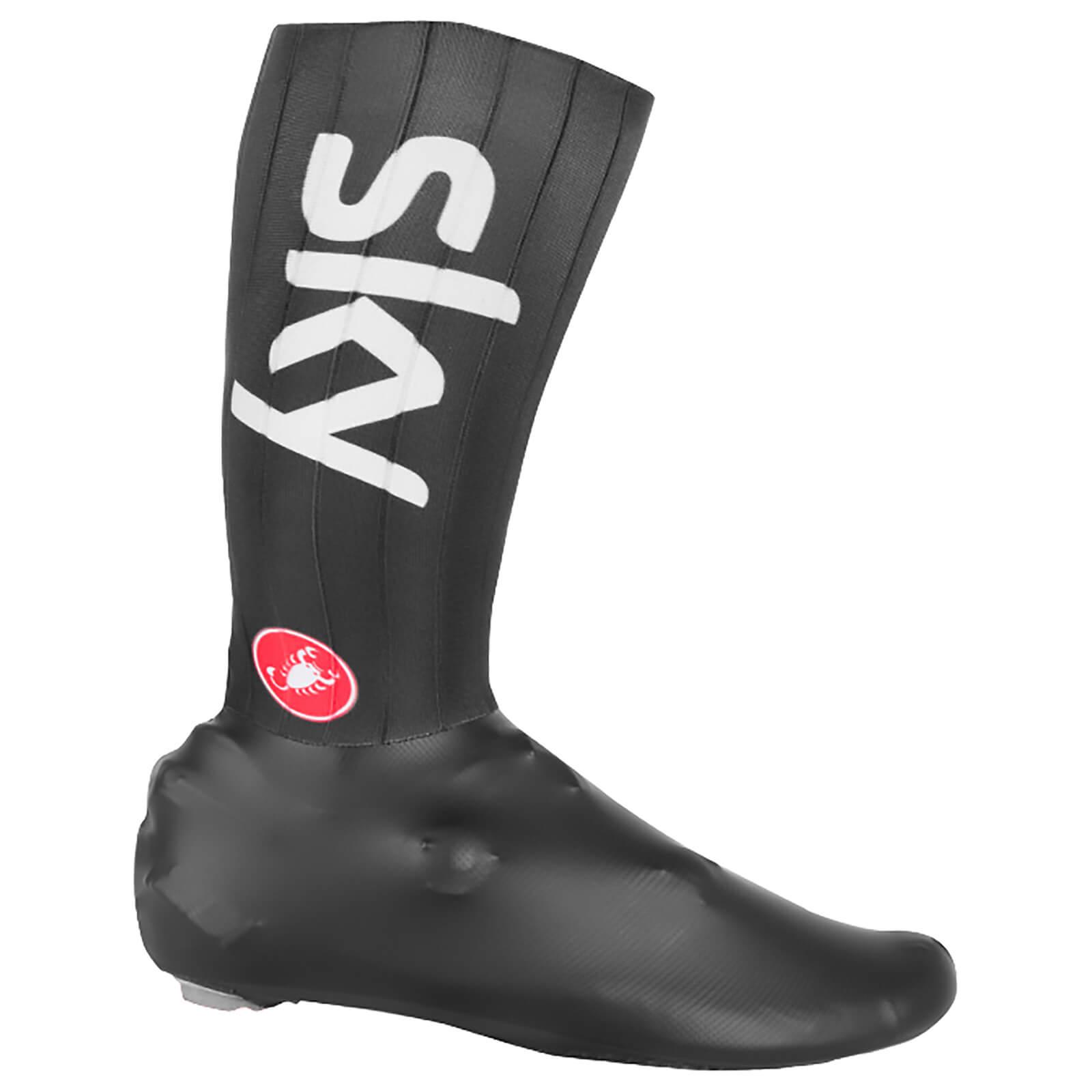 Castelli Team Sky Fast Feet TT Shoe Covers - Black - M