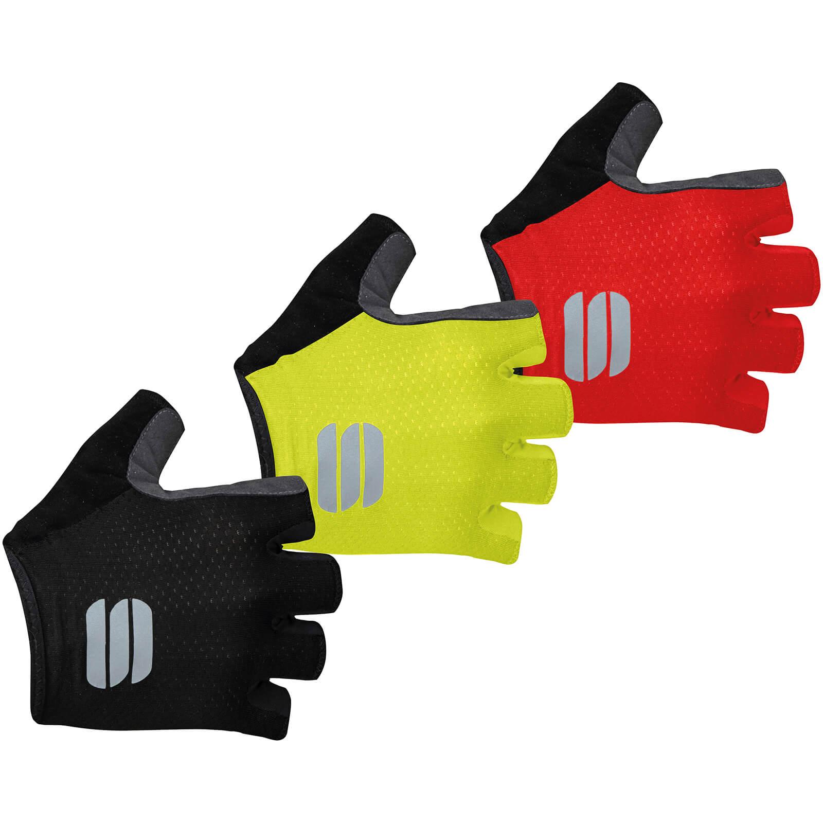 Sportful TC Gloves - L - Yellow Fluo
