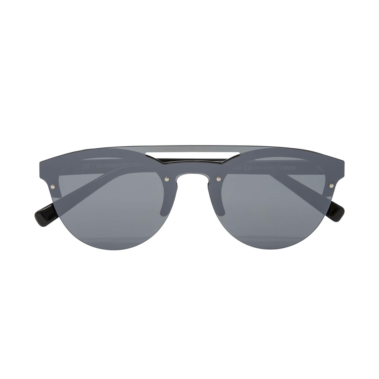 Scicon Cover Sunglasses Silver Multimirror Lens - Black Gloss Frame