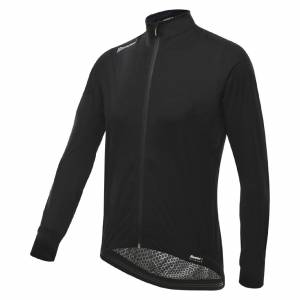 Santini Guard 3.0 Waterproof Jacket - Black - S - Black
