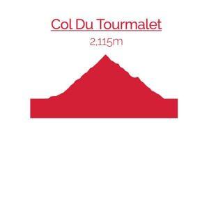 Summit Finish Col du Tourmalet Sweatshirt - White - M - White