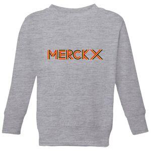 Summit Finish Merckx - Rider Name Kids' Sweatshirt - Grey - 3-4 Years - Grey