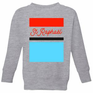 Summit Finish St Raphael Kids' Sweatshirt - Grey - 7-8 Years - Grey
