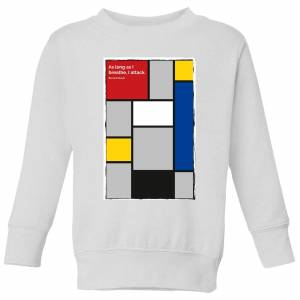 Summit Finish La Vie Claire Kids' Sweatshirt - White - 5-6 Years - White