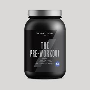 Myprotein THE Pre Workout - 30servings - Blue Raspberry