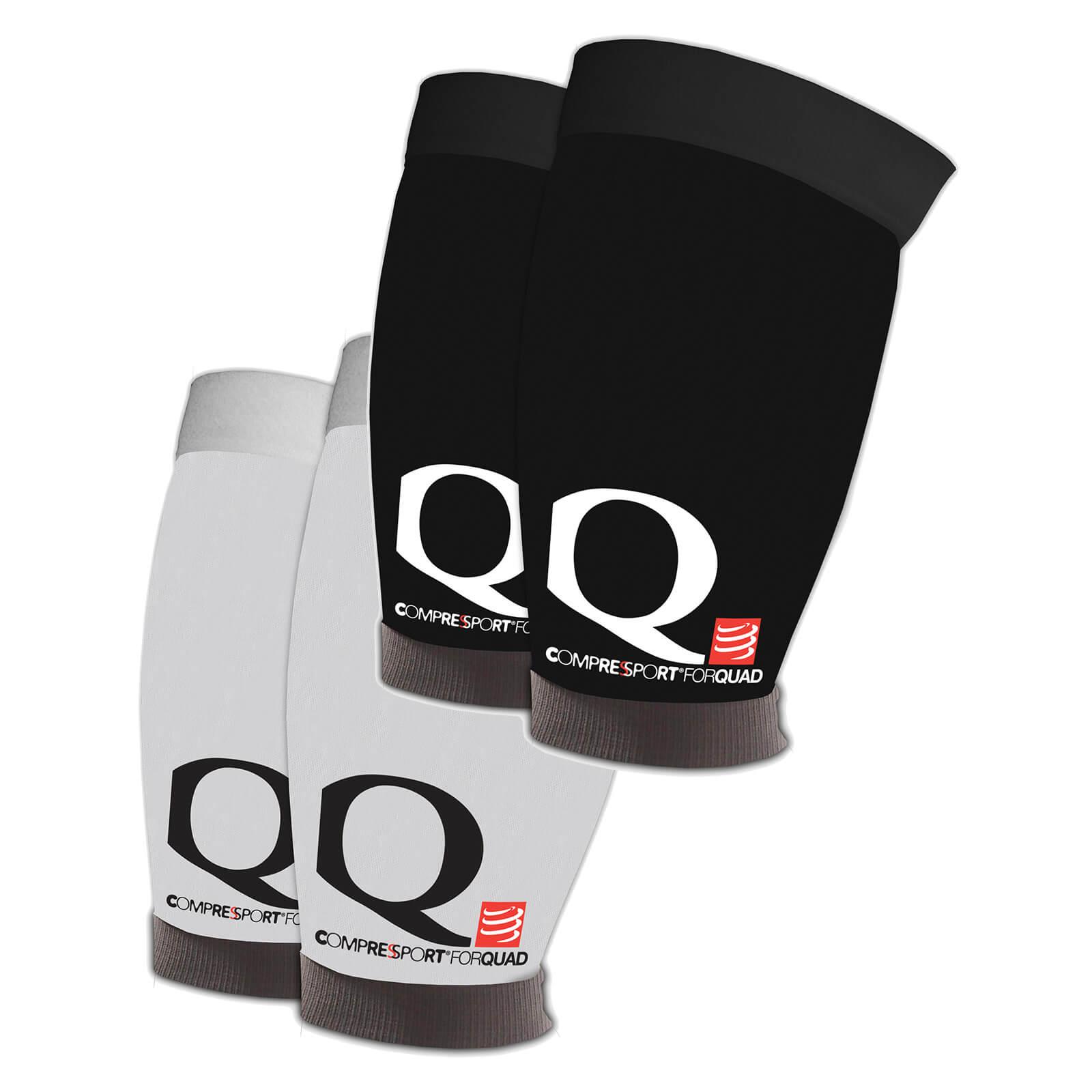 Compressport 4Quad Sleeves - T3/L - Black
