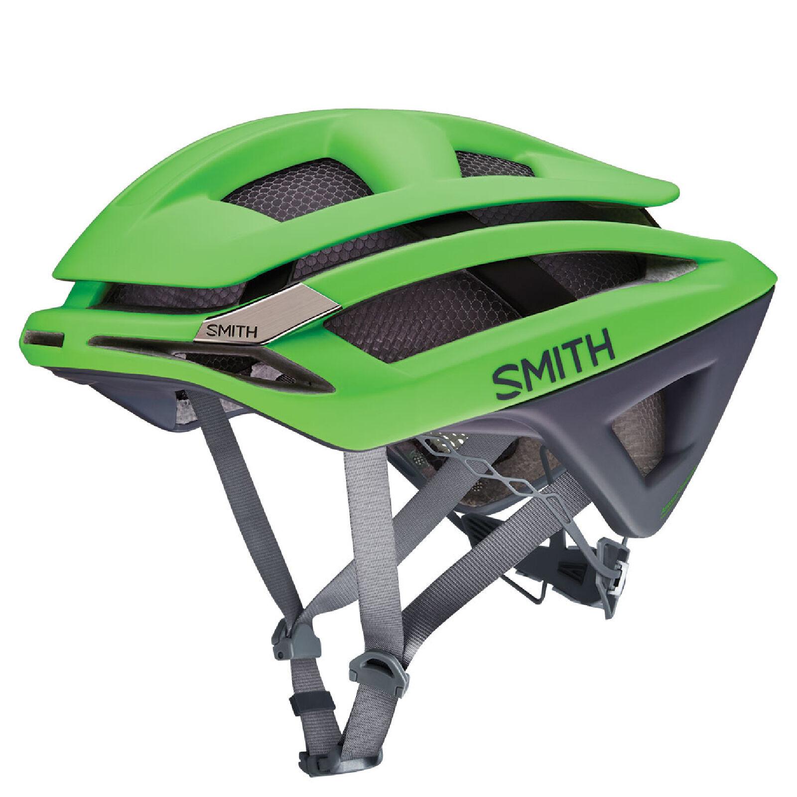 Smith Overtake Bicycle Helmet - S/51-55cm - Green/Black