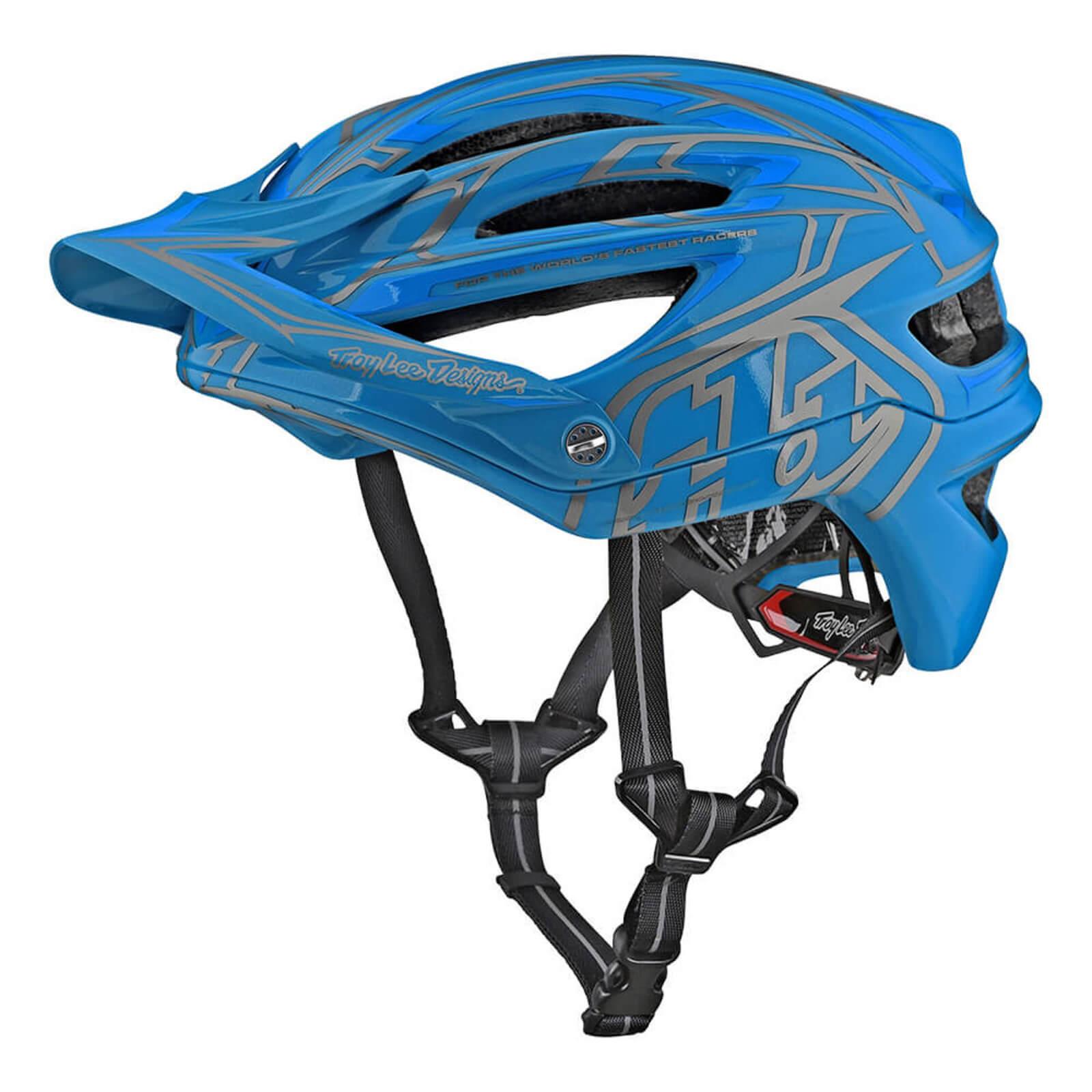 Lee Troy Lee Designs A2 MIPS Pinstripe 2 MTB Helmet - Ocean - XL-XXL/60-63cm - Ocean