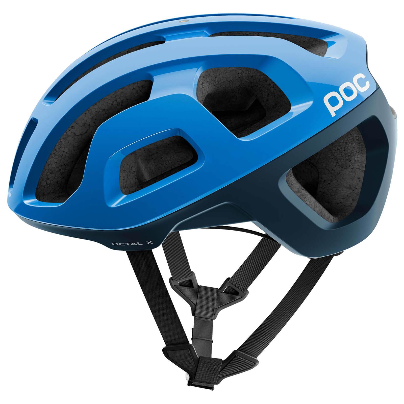 POC Octal X SPIN Helmet - S/50-56cm - Furfural Blue