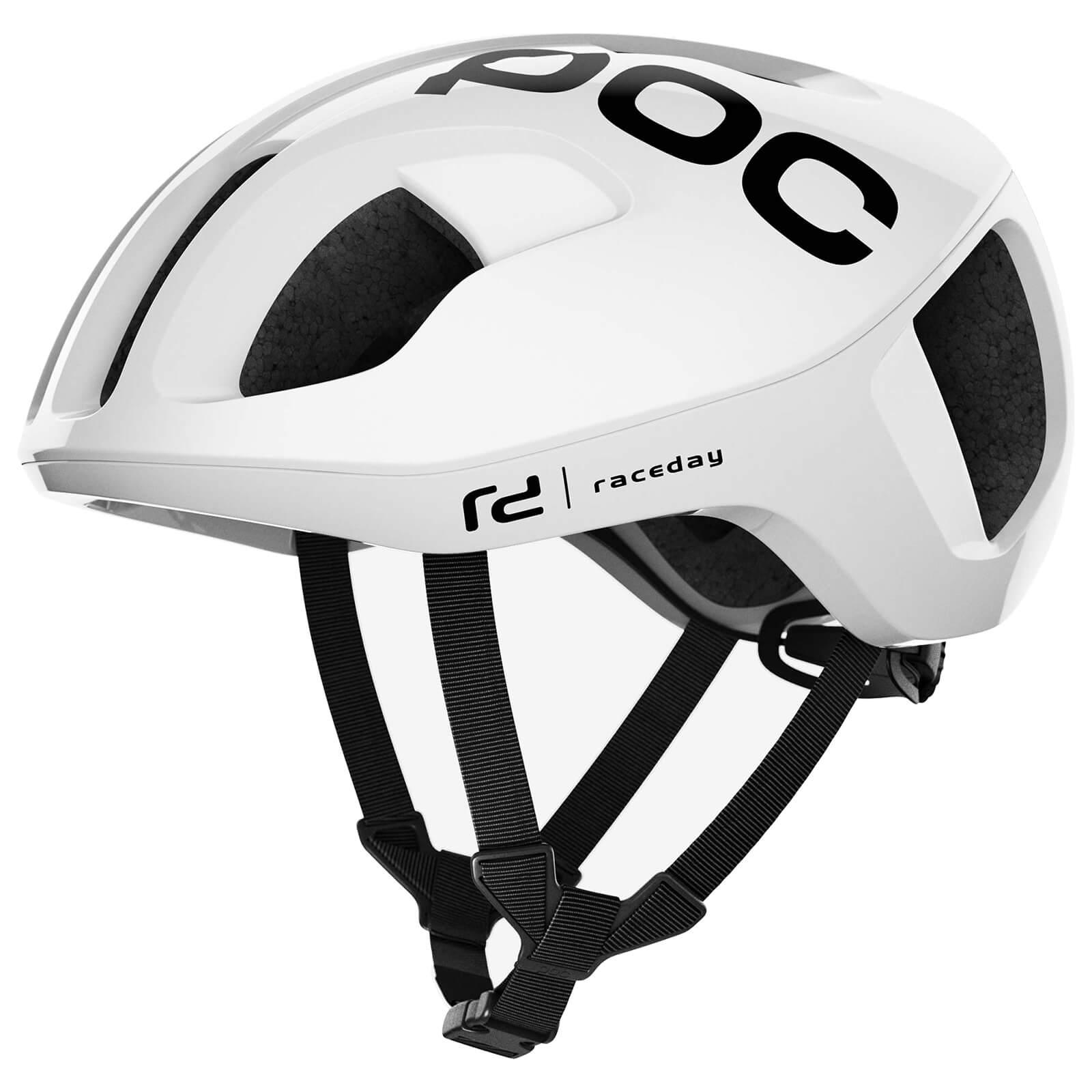 POC Ventral SPIN Helmet - L/56-62cm - Hydrogen White Raceday