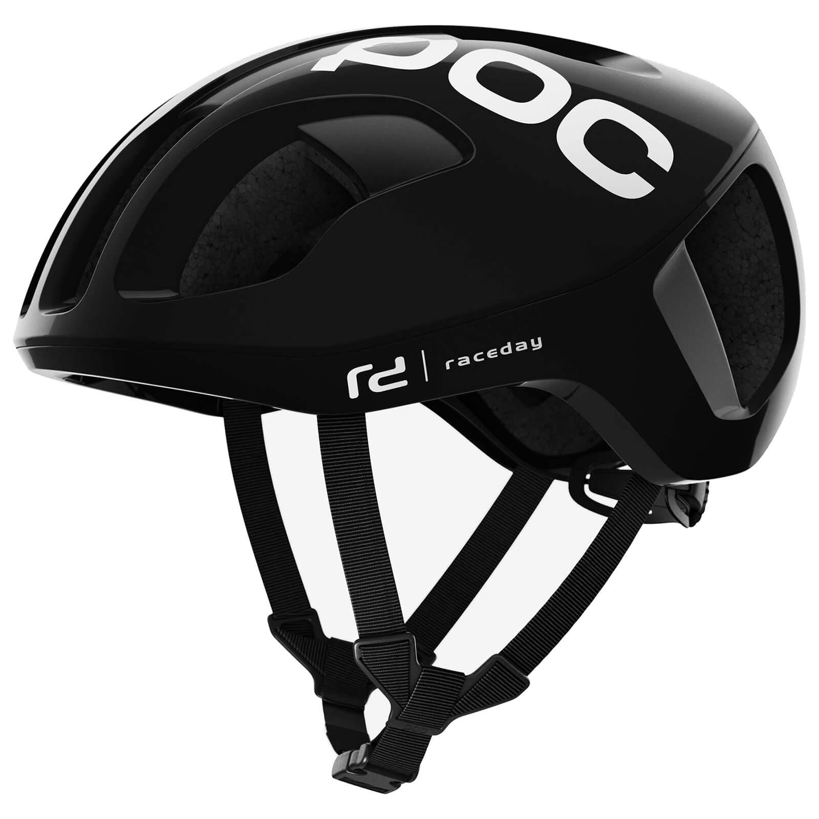 POC Ventral SPIN Helmet - S/50-56cm - Uranium Black Raceday