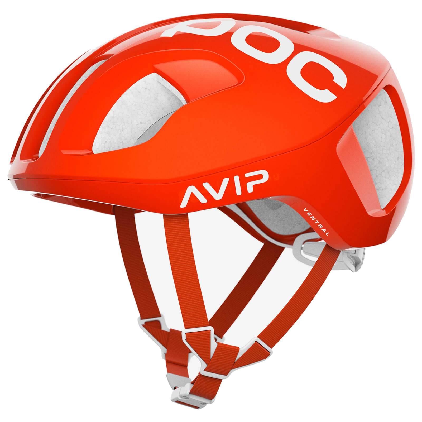 POC Ventral SPIN Helmet - S/50-56cm - Zink Orange AVIP