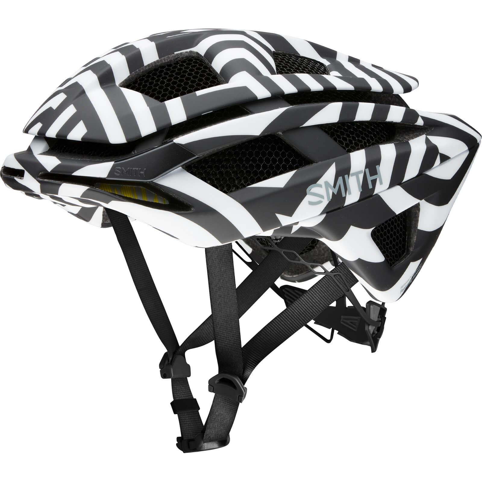 Smith Overtake MIPS Bicycle Helmet - L/59-62cm - Black/White